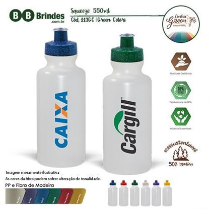 Imagem de Squeeze 550 ml Green Colors